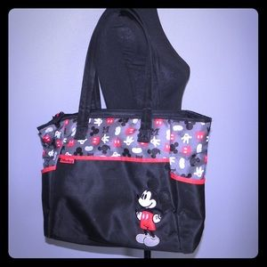 Disney Baby Large Diaper Bag Tote Mickey Mouse